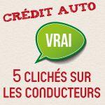 INFOGRAPHIE : Crédit auto - 5 clichés sur les conducteurs