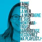 Découvrez la playlist de Jacqueline, formatrice.
