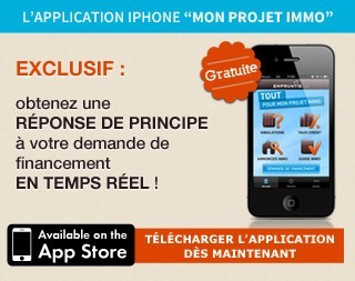 Application iPhone Mon Projet Immo