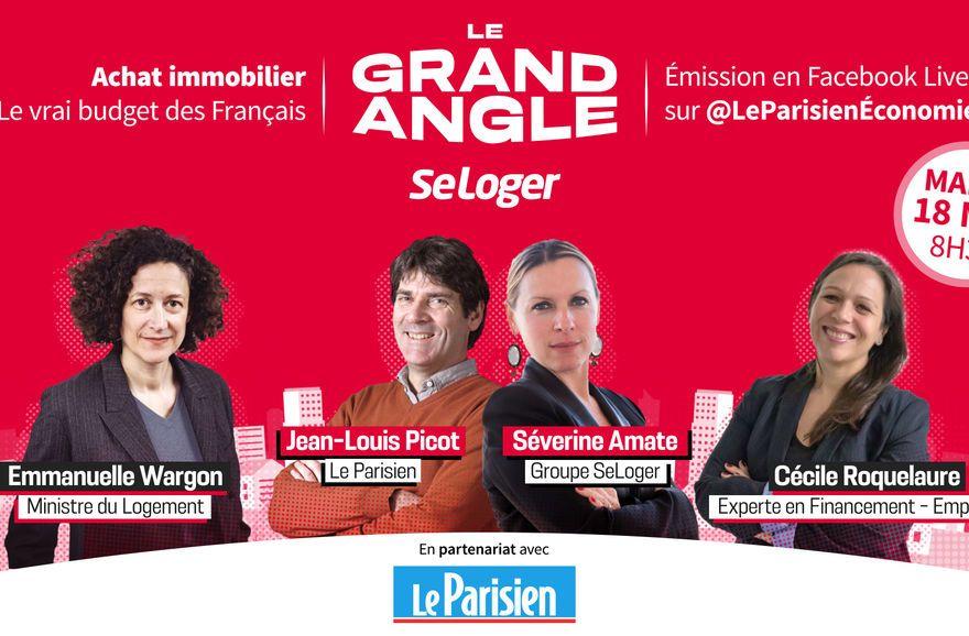 Grand Angle SeLoger x Le Parisien : Empruntis participe à l'émission